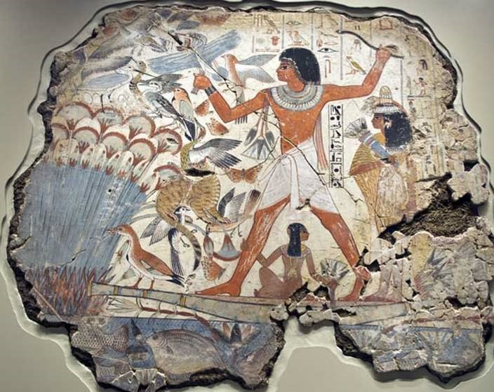 Lost masterpieces of ancient Egyptian art from the Nebamun